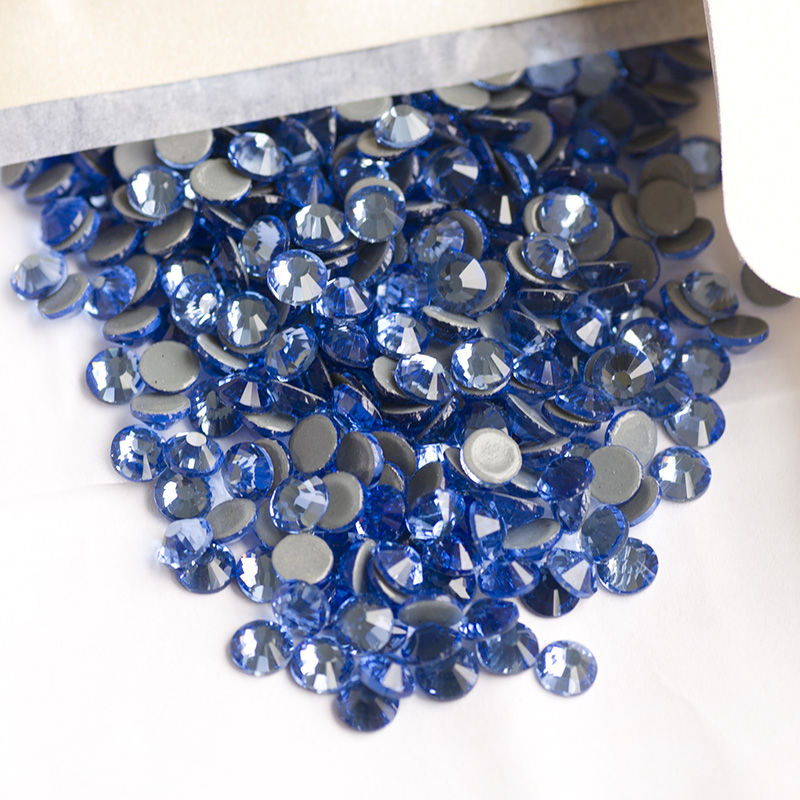 2058HF Sapphire Light All Sizefix Rhinestone Flatback DIY Rroba - Arte, zanate dhe qepje - Foto 5