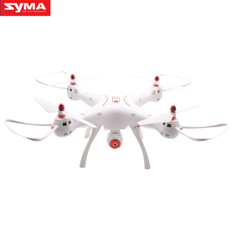 SYMA X8SW 2.4G WIFI FPV Real-time Transmission 4CH 6Axis Altitude Hold RC Quadcopter with 720P HD Camera RC Helicopter-white
