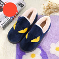 Lovely Monster Women Men Slippers Home Floor Soft Indoor Slippers Outsole Cotton-Padded Shoes Female Male Warm Casual Shoes