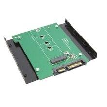 30 шт./лот E431 E531 X240 Y410P Y510P M.2 NGFF PCI-E 2 LANE SSD для SATA 22pin жесткий диск Корпус дело 3.5 «кронштейн Диск Залив