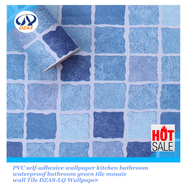PVC autoadhesivo papel pintado de la cocina mosaico azulejo baño ...