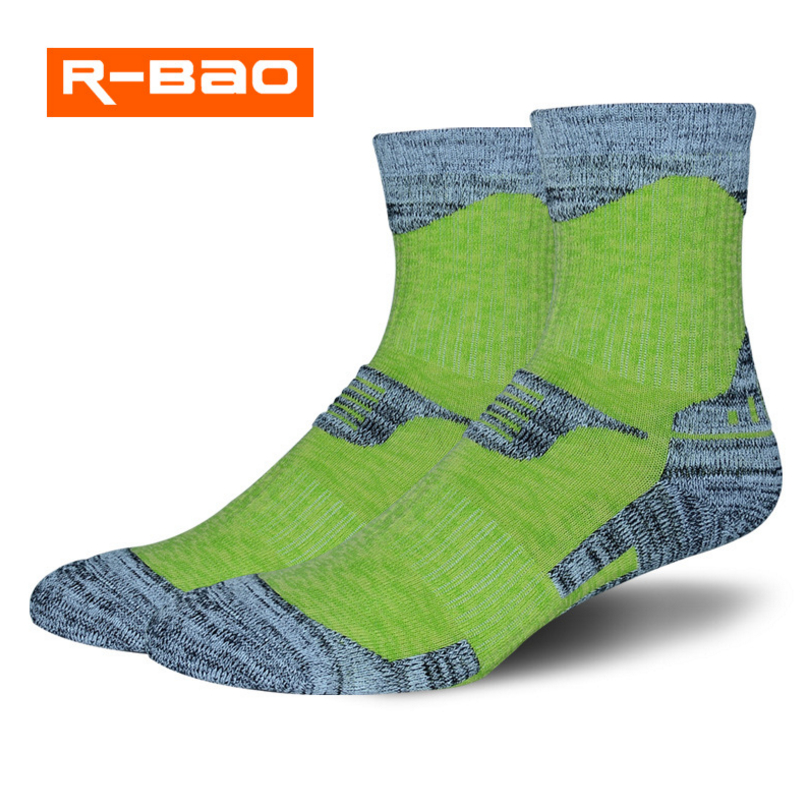 R-BAO Outdoor ski climbing socks autumn and winter heavy sports socks running moisture perspiration high quality tube towel sock