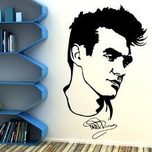 Morrissery The Smiths Vinyl Art Wall Sticker Home Living Room Decoration Mural Free Shipping Removable Wallpaper Y-829