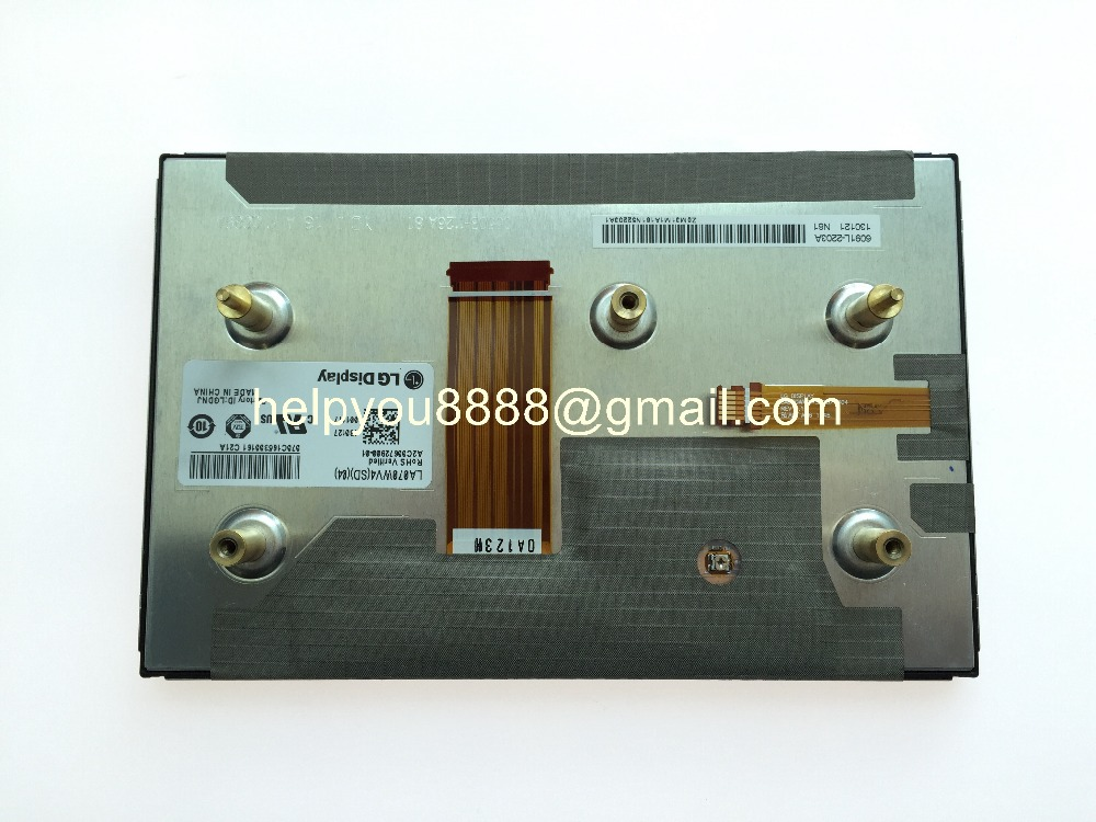 New LA070WV4SD04 LA070WV4 SD04 LA070WV4 SD 04 LG display LCD module 7inch display for Mercedes car