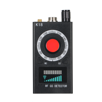 K18 multi-function anti-spy detector camera gsm audio bug finder gps signal lens rf tracker detect wireless products 1mhz-6.5ghz