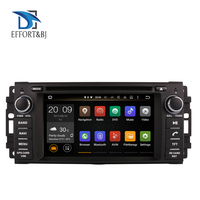 Android 9.0 Octa Core 4GB RAM Car GPS Navigation For Jeep Wrangler/Commander/Dodge Chrysler 2007 2018 DVD CD Player SWC Wifi BT