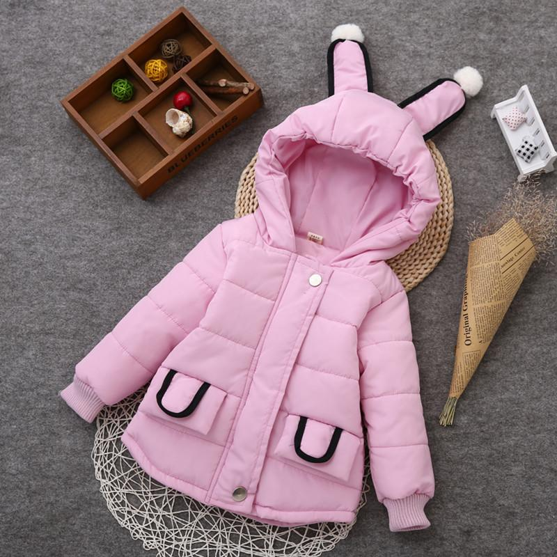 Autumn Casual Warm Girls Winter Coat Hooded Kids Clothes Thicken Outerwear Casaco Down Parka Child Clothing Snowsuit Baby Jacket fashion girl thicken snowsuit winter jackets for girls children down coats outerwear warm hooded clothes big kids clothing gh236