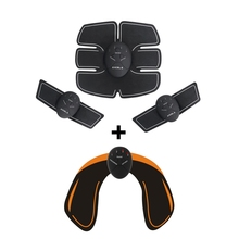 Wireless Muscle Stimulator Trainer Smart Fitness Abdominal Training Electric Weight Loss Stickers Body Slimming Belt Unisex gel for ems muscle stimulator trainer smart fitness abdominal training electric weight loss stickers body slimming belt
