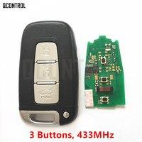 QCONTROL Car Remote Smart Key Suit For HYUNDAI I30 I45 Ix35 Genesis Equus Veloster Tucson Sonata