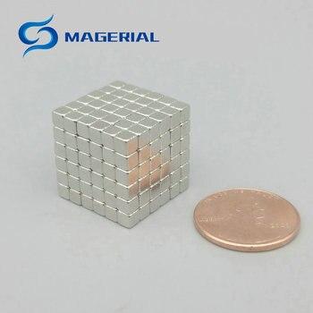 Puzzles for Adults N42 Block 3x3x3mm NdFeB Magnet cubes Magic Toy Neodymium Rare Earth Magnets 5 x 216pcs/set