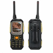 MAFAM M2 4000mAh Dual SIM Card UHF Walkie Talkie wireless FM power bank Rugged shockproof mobile phone P156(China)
