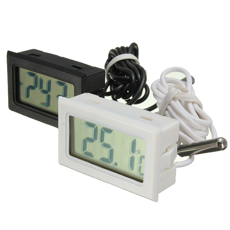 Digital LCD Kitchen Fridge Freezer Thermometer Electronic Temperature Sensor