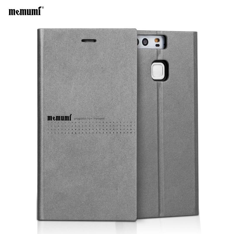 memumi PU kožené pouzdro Flip Stand pro Huawei P9 / P9 Plus Pouzdro Peněženka pro HUAWEI P9 / HUAWEI P9plus Kryt pro Huawei P9