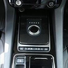 Carbon Fiber Style Center Console Gear Shift Panel Decoration Cover Trim For Jaguar XE X760 F-PACE X761 2016-18 ABS Modified carbon fiber style center console gear shift panel decoration cover trim for jaguar xe x760 f pace x761 2016 18 abs modified