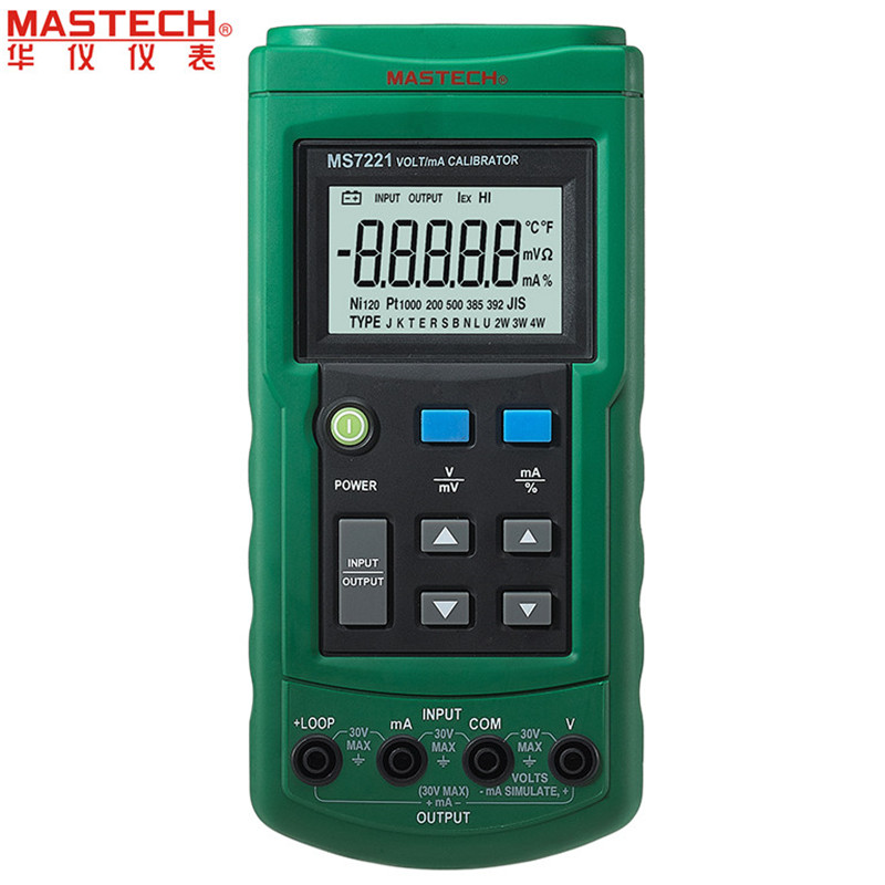 все цены на Mastech MS7221 Volt/mA Voltage Current Calibrator Source/Output Step DC 0-10V 0-24mA Tester Meter онлайн