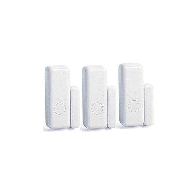 3pcs Wireless Door Window Magnet Sensor Detector For 433MHz WIFI GSM Alarm System For Smart Home Security Door Window Opening