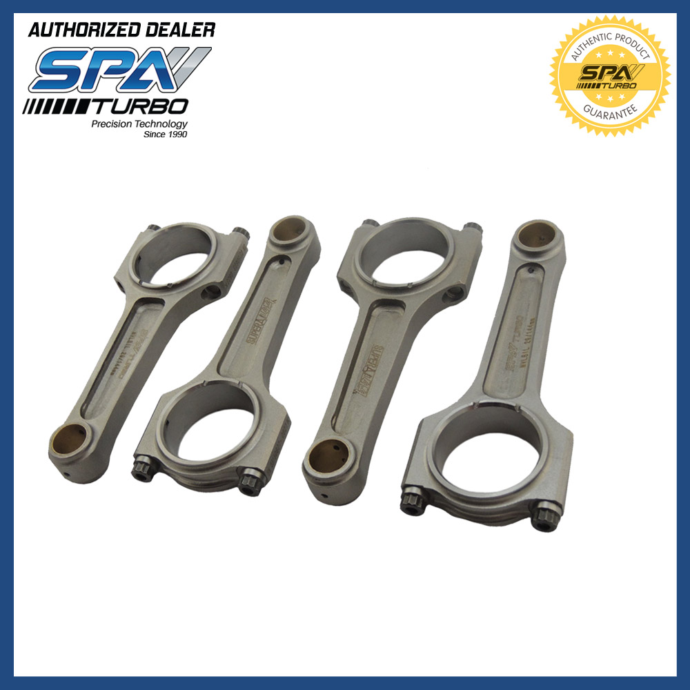 VW 144 MM 4340 A-BEAM Forged Connecting Rods AGU AEB TDI ADR AP 20mm Wrist Pins 4 Pcs Set 1.8L 2.0L 8v 16v 20v Golf Jetta A80
