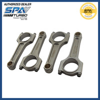 VW 144 MM 4340 A BEAM forged connecting rods AGU AEB TDI AP 20mm wrist pins 4 pcs set 1.6L 1.8L 2.0L 8v 16v 20v Golf Jetta A80