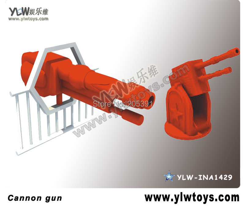 plastic Cannon gun,amusement equipment park accessories,toy gun for amusement indoor playground  цены
