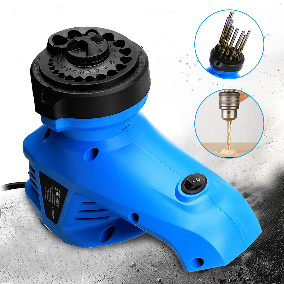 95W Electric Twist Drill Bit Sharpener Electric Drill Bit Grinder,Grinder Tool For Sharpening Size 3-12mm 3 12mm 220v electric multi tool grinding machine twist drill bit sharpener grinder