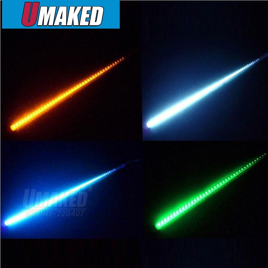 10 tubes/ensemble 30 cm SMD3528 LED chute de neige, double face LED lumière de noël LED étanche pluie LED tube météore tube