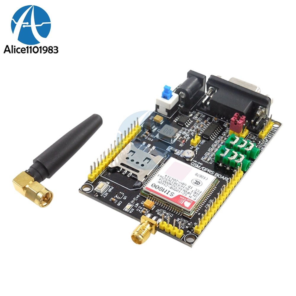 Integrated Circuits Wavgat Sim800l V2.0 5v Wireless Gsm Gprs Module Quad-band W/ Antenna Cable Cap Comfortable And Easy To Wear Electronic Components & Supplies
