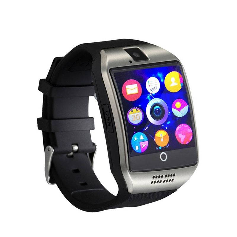 Men Smart Watch Q18 Passometer With Touch Screen Camera Support TF Card Bluetooth Smartwatch for Android Phone Passometer Watch