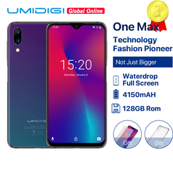Восстановленный UMIDIGI One Max Global Vertion 128 ГБ 6,3
