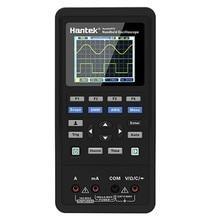 Canais de Osciloscópio Digital Hantek 2 Portátil 250MSa/S Forma De Onda Do Gerador USB 40mhz 70mhz LCD Multímetro Medidor Universal ferramentas