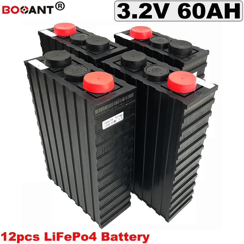 Free Shipping Deep Cycle 12S 36V 60Ah LiFePO4 Lithium