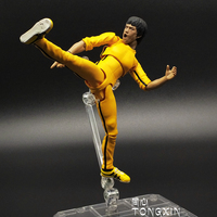 SHF Bruce Lee figma Death Game Fist of Fury action figure Doll Model