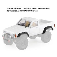 1/10 RC Crawler Auto Body AX-313B Wielbasis Pickup Body Shell Auto Shell voor Axiale SCX10 & SCX10 II 90046 90047 RC Truck Crawler(China)