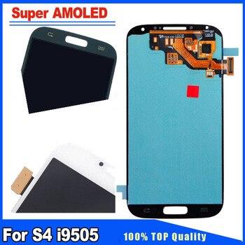 e6ce3d2098a Super AMOLED HD para Samsung Galaxy S4 i9505 i9500 i337 pantalla LCD de  reemplazo de digitalizador