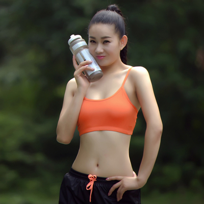 sexy girl jogging