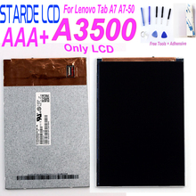 New 7'' Inch LCD Display For Lenovo Tab A7 A7-50 A3500 LCD Display A3500 Display VAK67 T19 0.2 LCD Replacement цены
