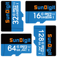 Sundigit Echt 128 GB 64 GB 32 GB 16 GB MicroSD MicroSDHC MicroSDXC Micro SD SDHC SDXC Karte Class10 klasse 10 UHS-1 TF Speicher karte