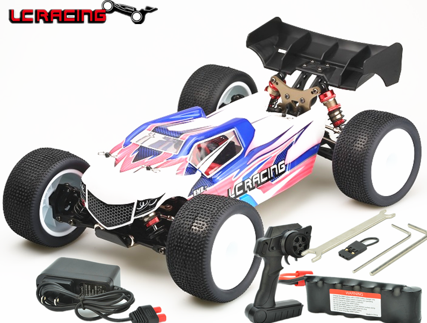 LC RACING Tacon 1 14 EMB TGH Brushless motor Off Road 4WD RC Car Truggy Chassis