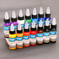 2019 NEW OuxinLi 14 Embroidery Machine Permanent Color Tattoo Pigment Tattoo Ink 30ml Beauty Tools