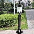 Черная/бронзовая садовая светодиодная лампа  80 см  уличное освещение  E27 розетка  110В/220В