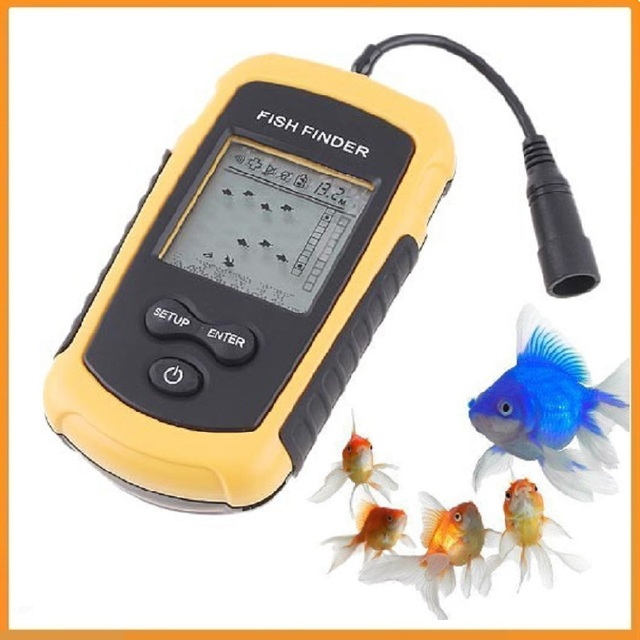 brand new fish finder portable sonar wired lcd fish depth finder, Fish Finder