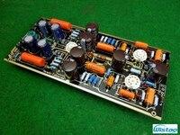 Iwistao tubo phono amp kit palco marantz7 turntables riaa 12ax7 6x4 rect não solda sem incluir tubos de alta fidelidade diy frete grátis