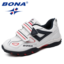 BONA New Fashion Style Children Casual Shoes Hook & Loop Boys