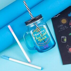 Image 4 - Arrtx AMP 1500 Metallic Color Pens Fine Point & Soft Brush 20 Planner Pens Suitable for DIY Photo Album/Rock Painting