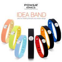 Potenza Ionics 3000 ioni di Sport Impermeabile Bracciale In Titanio Wristband Migliorare L'equilibrio di Sonno Che Dimagrisce