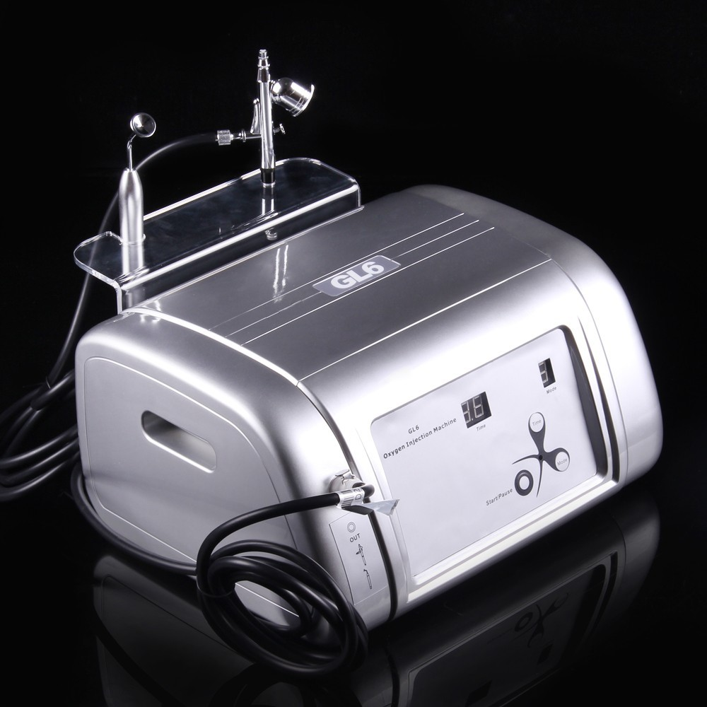Fast Shipping Portable O2 Oxygen Jet Facial Care Massage Machine for Anti-wrinkle, Lifting Oxygen Infusion