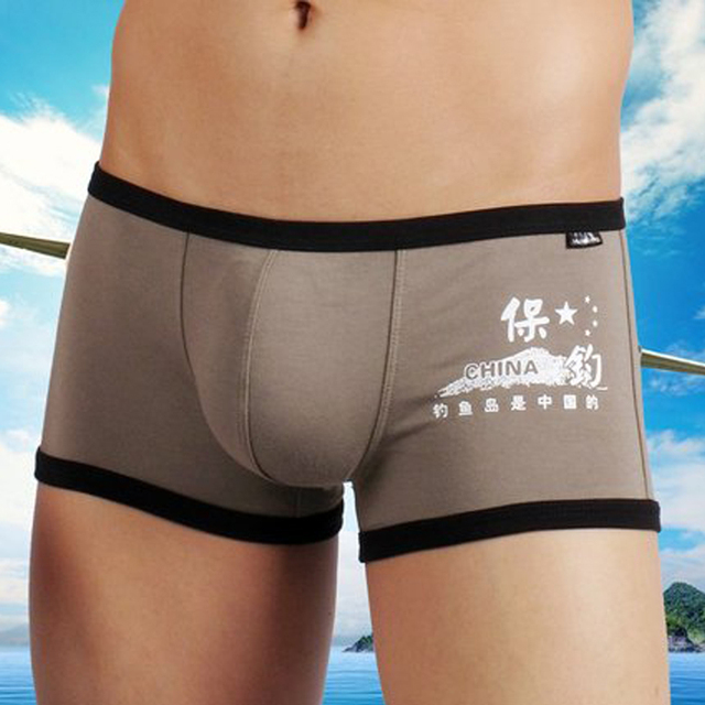 Free-shipping Comfortable Panties Hot Sale Men Male Underwear Men's  Underwear Sexy Striped Cotton Man Underpants  HCPD019