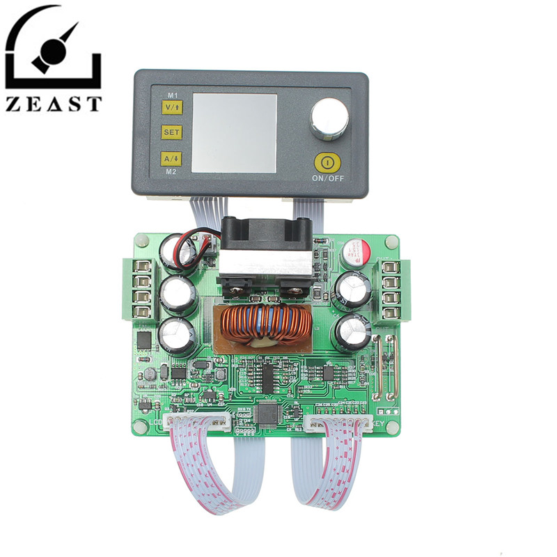 DPS3012 32V 12A Buck Adjustable DC Constant Voltage Power Supply Module Integrated Voltmeter Ammeter With Color