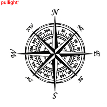 NSWE Compass Nautical Navigate Vinyl Car-styling Decal Motorcycle Car Sticker