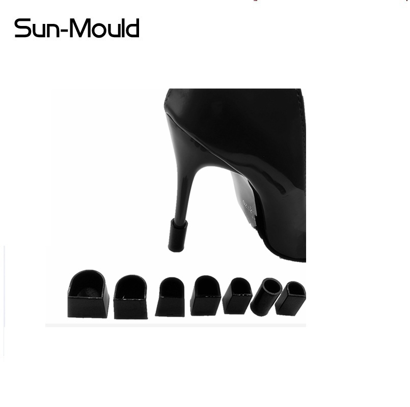 7 size woman stiletto heel protectors Latin Dance Shoes Heel Protector stoppers High Heel Shoe tacones protector zapatos mujer
