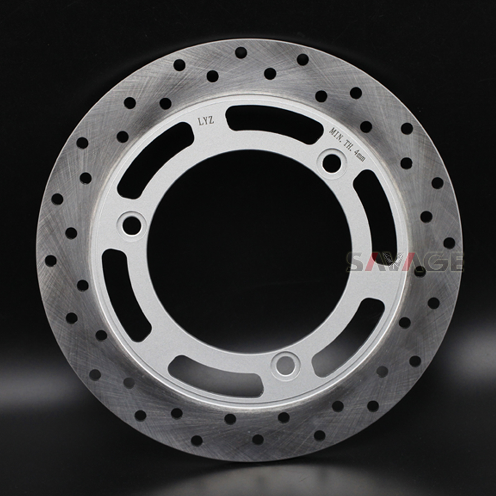 Front/Rear Wheel Brake Disc Rotor For SUZUKI UH 125/200 BURGMAN 2014-2017 15 16 Motorcycle Accessories stainless steel for ktm 390 200 125 duke 2012 2015 2013 2014 motorcycle accessories rear wheel brake disc rotor 230mm stainless steel